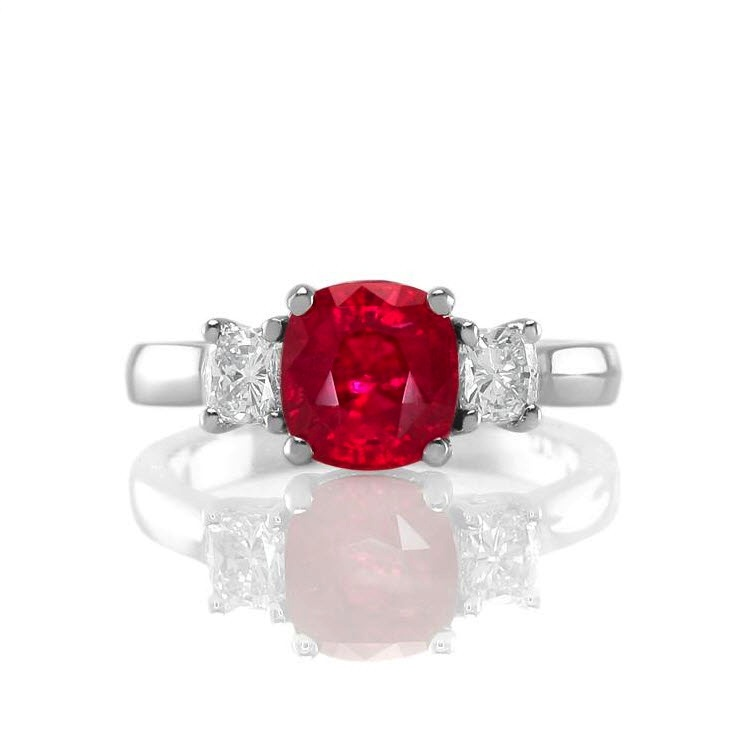 Natural-Untreated-Ruby-And-Diamond-Engagement-Ring